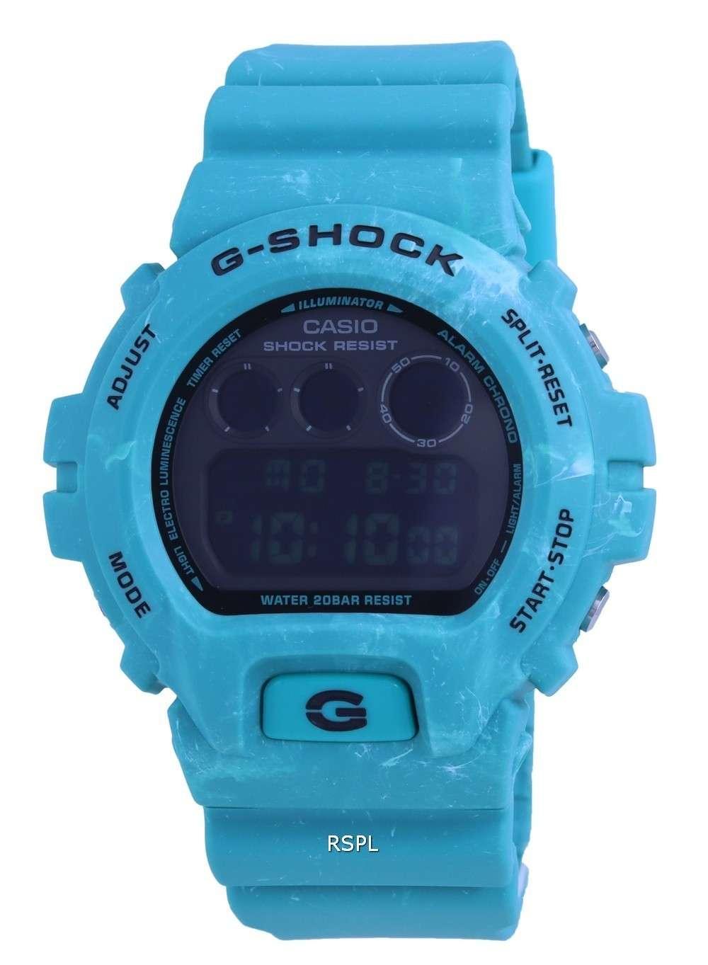 Reloj Casio G-Shock Special Color Digital DW-6900WS-2 DW6900WS-2 200M para hombre