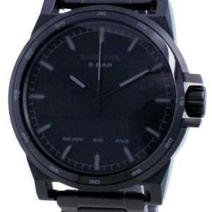 Reloj para hombre Diesel D-48 de cuarzo de acero inoxidable con esfera negra DZ1934