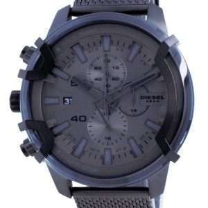Reloj para hombre Diesel Griffed Chronograph de acero inoxidable de cuarzo DZ4536