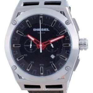 Reloj para hombre Diesel Timeframe Chronograph Leather Quartz DZ4543 100M