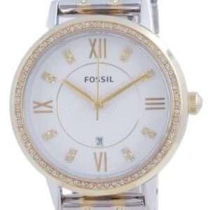 Fossil Gwen Silver Dial Daimond Accents Quartz ES4881 Reloj para mujer