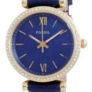 Fossil Carlie Mini Diomand Accents Quartz ES5017 Reloj para mujer