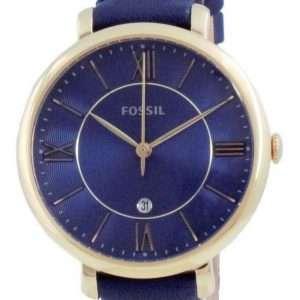 Fossil Jacqueline Blue Dial Analog Quartz ES5023 Reloj para mujer