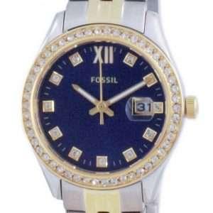 Fossil Scarlette Micro Diamond Accents Quartz ES5034 Reloj para mujer
