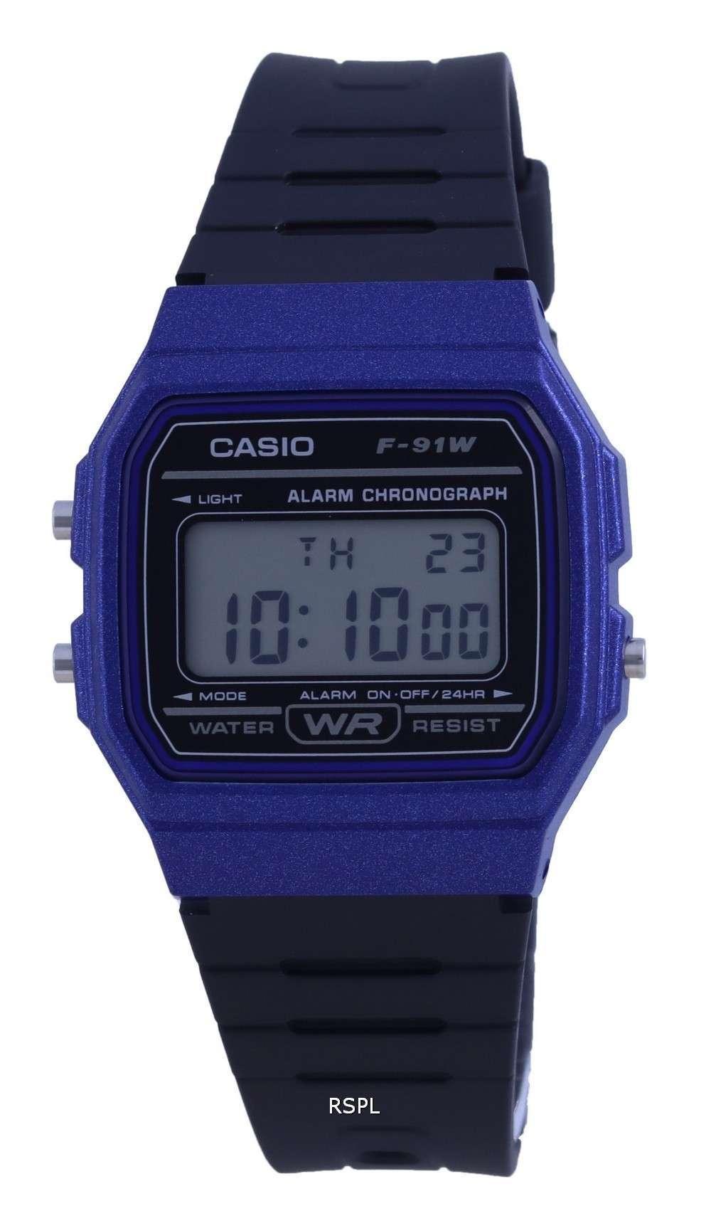 Reloj unisex Casio Youth Resin Digital F-91WM-2A F91WM-2