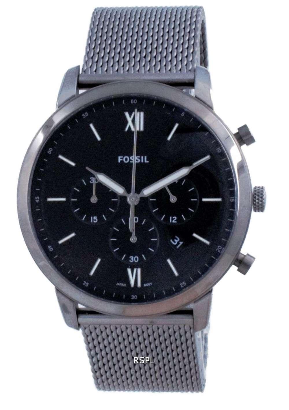 Reloj Fossil Neutra Cronógrafo de acero inoxidable de cuarzo FS5699 para hombre