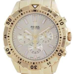 Reloj Fossil Garrett cronógrafo de acero inoxidable de cuarzo FS5772 100M para hombre