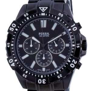 Reloj Fossil Garrett de acero inoxidable con cronógrafo y cuarzo FS5773 100M para hombre