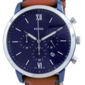 Fossil Neutra Chronograph Luggage Leather Quartz FS5791 Reloj para hombre