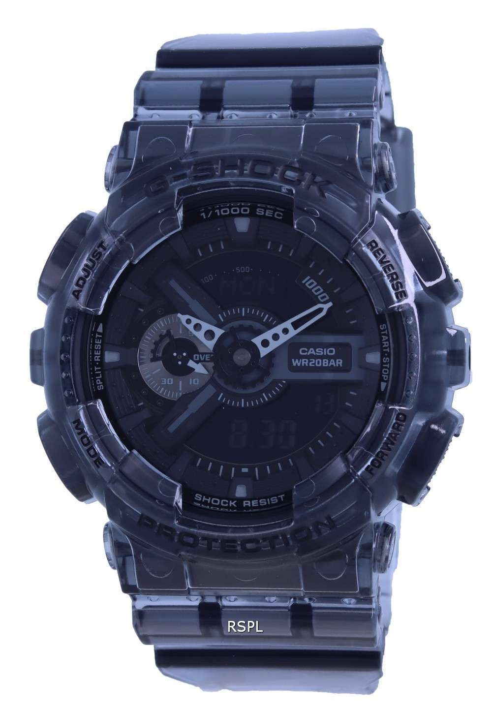 Reloj Casio G-Shock Special Color Analog Digital GA-110SKE-8A GA110SKE-8 200M para hombre