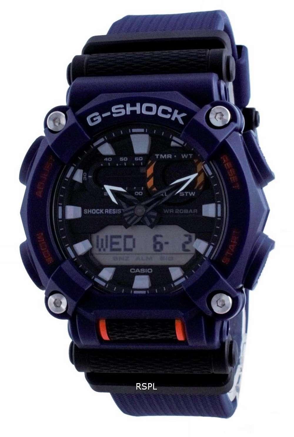Reloj para hombre Casio G-Shock World Time Analog Digital GA-900-2A GA900-2 200M