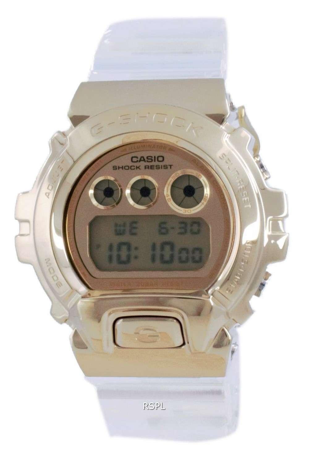 Reloj para hombre Casio G-Shock Special Color Digital Diver&#39,s GM-6900SG-9 GM6900SG-9 200M