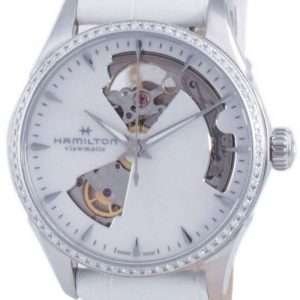 Hamilton Jazzmaster Open Heart Diamond Accents Automatic H32205890 Reloj para mujer