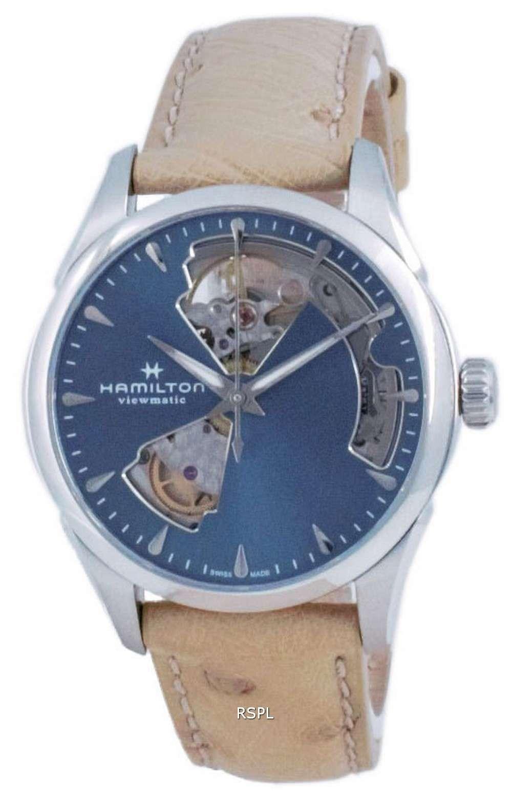 Hamilton Jazzmaster Open Heart Automatic H32215840 Reloj para mujer