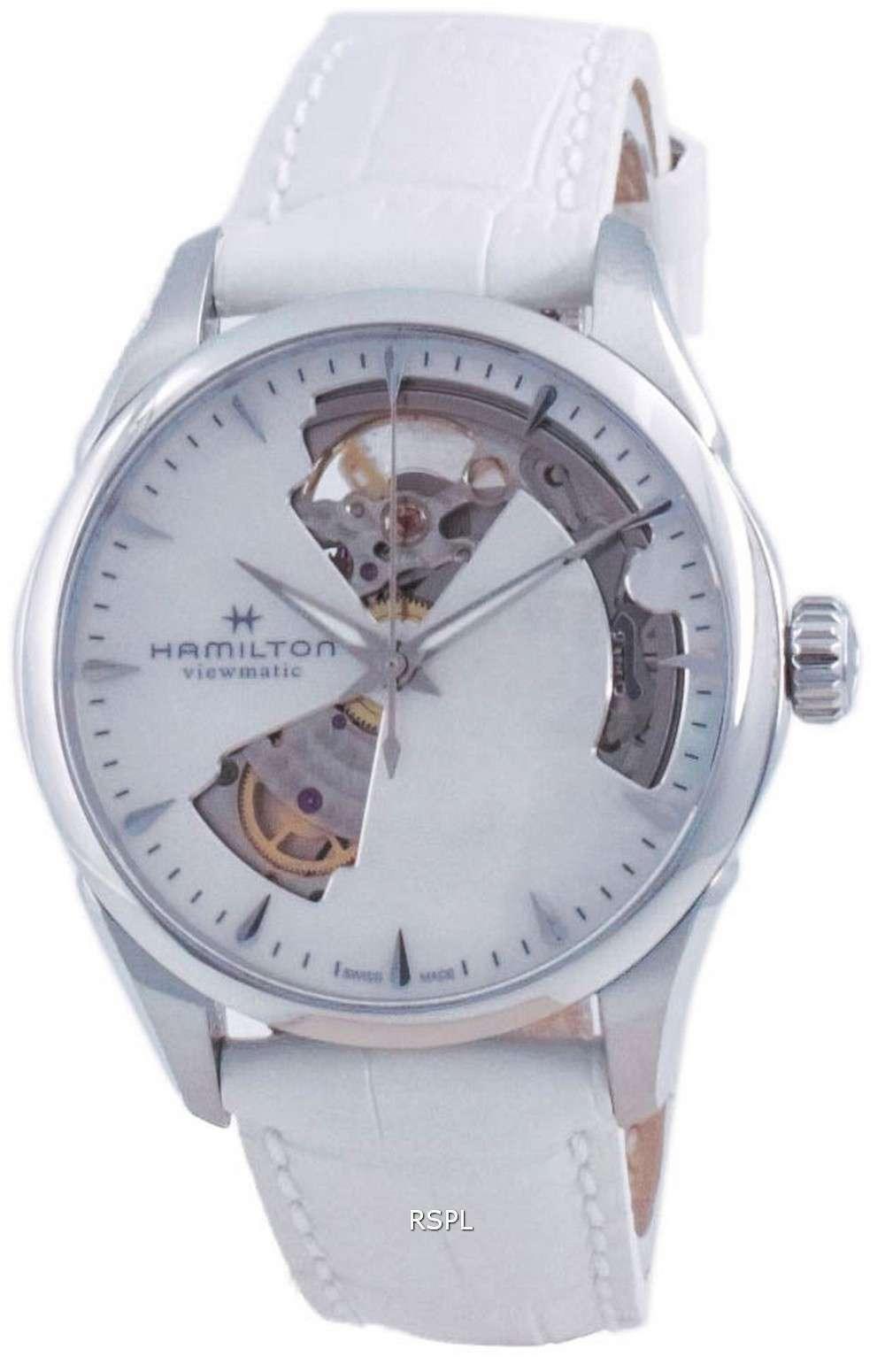 Hamilton Jazzmaster Open Heart Automatic H32215890 Reloj para mujer