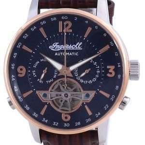 Reloj Ingersoll The Grafton Blue Dial Open Heart Automático I00703B para hombre