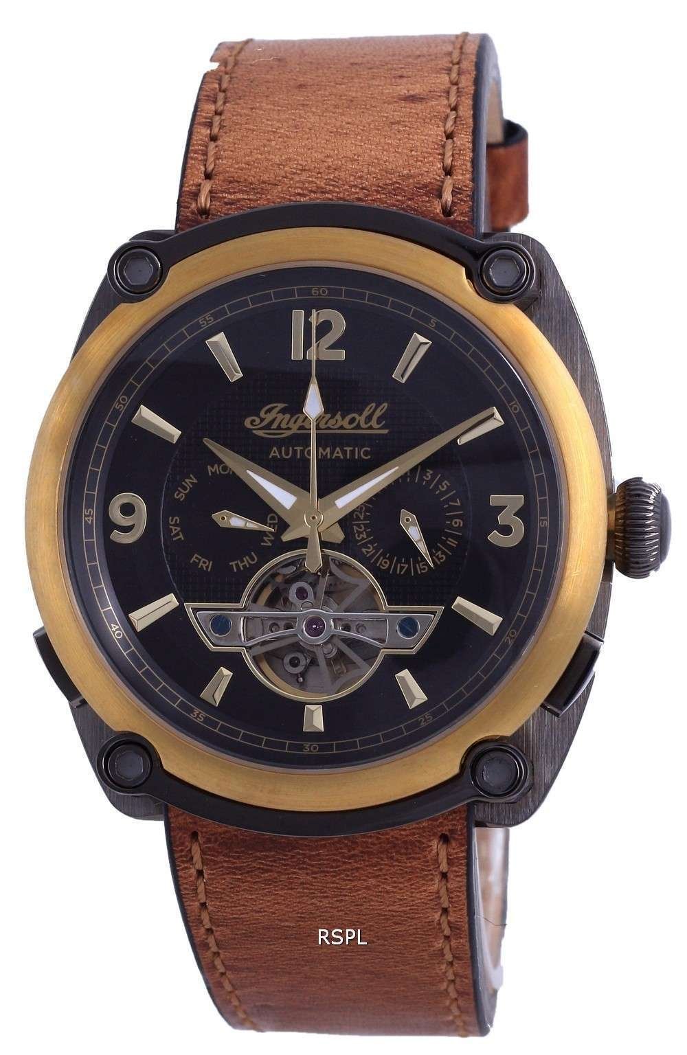 Ingersoll The Michigan Limited Edition Leather Automatic I01104 Reloj para hombre