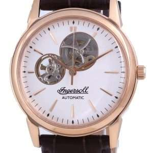 Ingersoll The New Haven Open Heart Leather Automatic I07301 Reloj para hombre