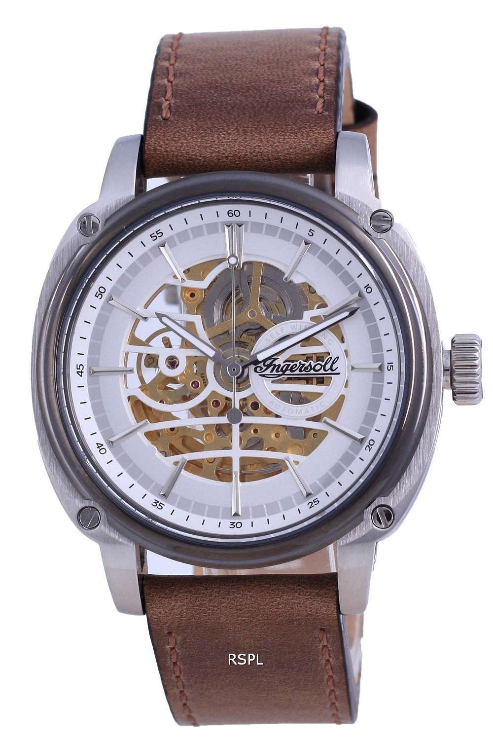 Ingersoll The Director Skeleton Dial Leather Automatic I09902 Reloj para hombre