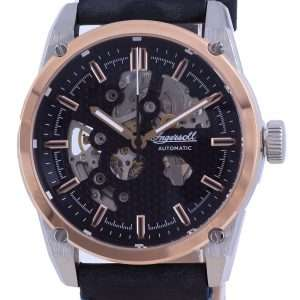 Ingersoll The Carroll Semi Skeleton Dial Leather Automatic I11602 Reloj para hombre