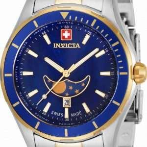 Reloj Invicta Pro Diver Moon Phase Quartz 33467 100M para hombre