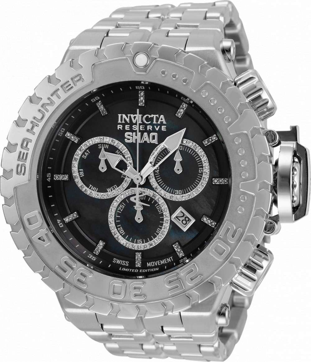 Invicta Shaq Diamond Accents Diver&#39,s Quartz 34612 500M Reloj para hombre