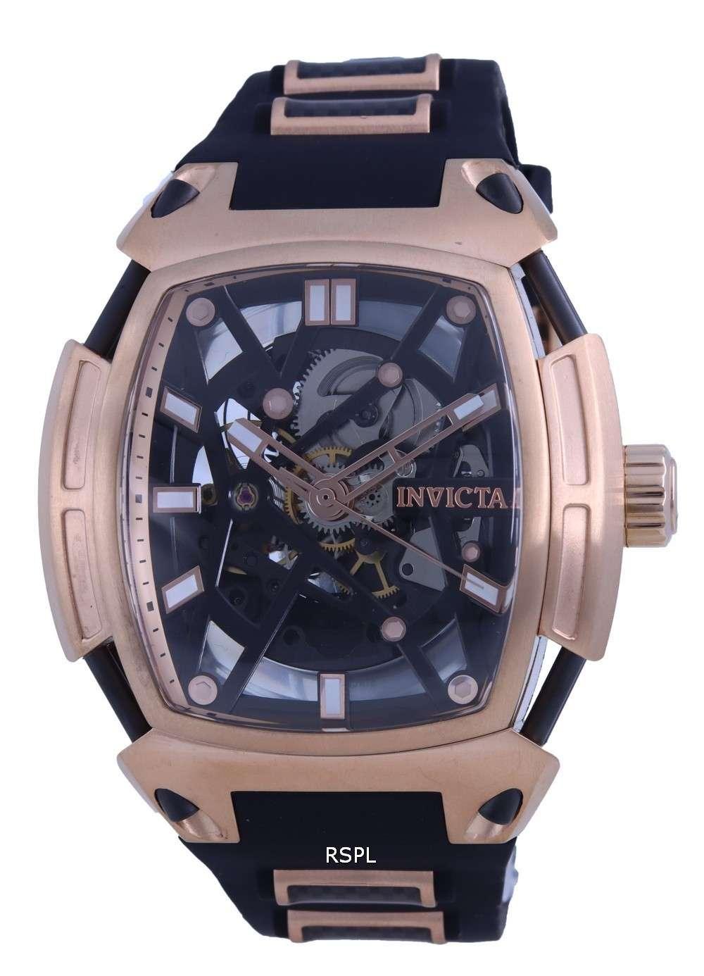Invicta S1 Rally Diablo Skeleton Dial Automatic 34630 100M Reloj para hombre