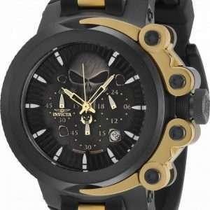 Invicta Marvel Punisher Chronograph Quartz 34654 100M Reloj para hombre