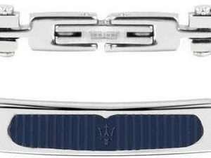 Pulsera para hombre Maserati Prestige Sterling Silver JM417AKV02