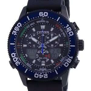 Reloj para hombre Citizen Promaster Marine Yacht Timer Eco-Drive JR4065-09E 200M Diver
