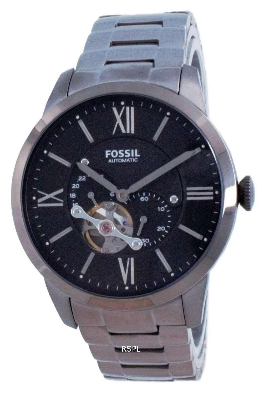Reloj automático para hombre Fossil Townsman Open Heart de acero inoxidable ME3172