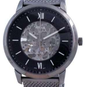 Reloj Fossil Neutra Skeleton de acero inoxidable automático ME3185 para hombre