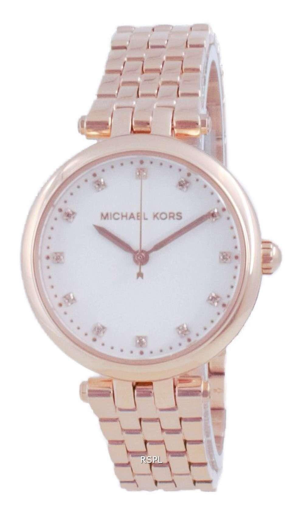 Michael Kors Darci Diamond Accents Rose Gold Quartz MK4568 Reloj para mujer