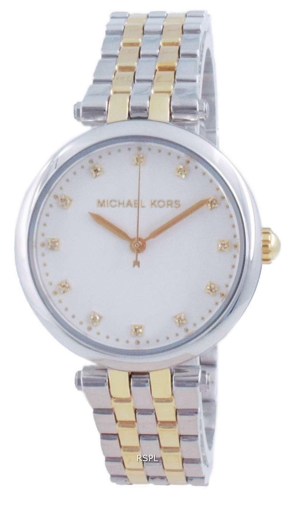 Michael Kors Darci Diamond Accents Quartz MK4569 Reloj para mujer