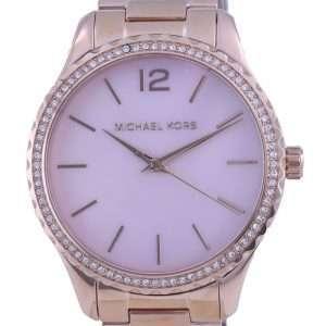 Michael Kors Layton Crystal Accents Quartz MK6848 Reloj para mujer