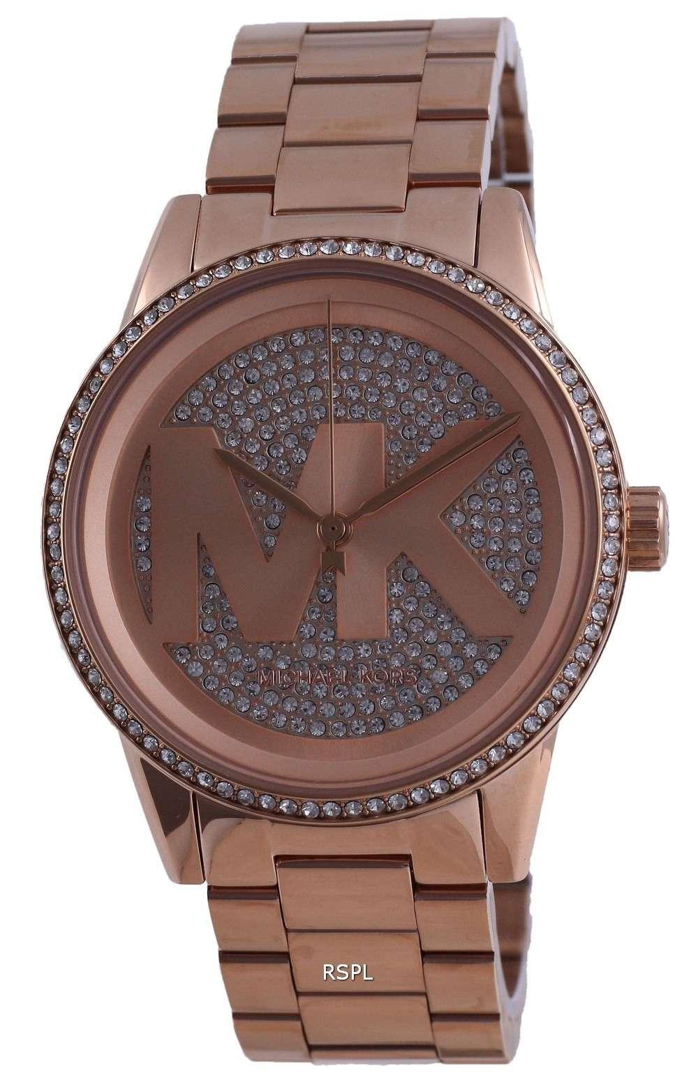 Michael Kors Ritz Diamond Accents Quartz MK6863 Reloj para mujer