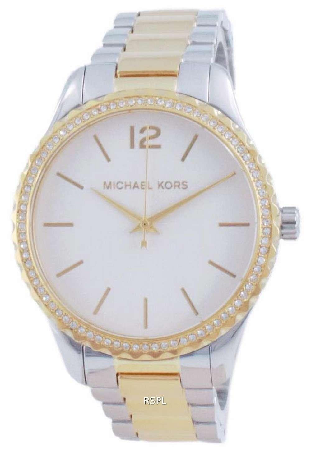 Michael Kors Layton Quartz Diamond Accents MK6899 Reloj para mujer