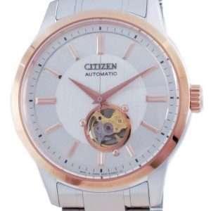 Reloj para hombre Citizen Mechanical Open Heart Acero inoxidable NB4024-95A 100M