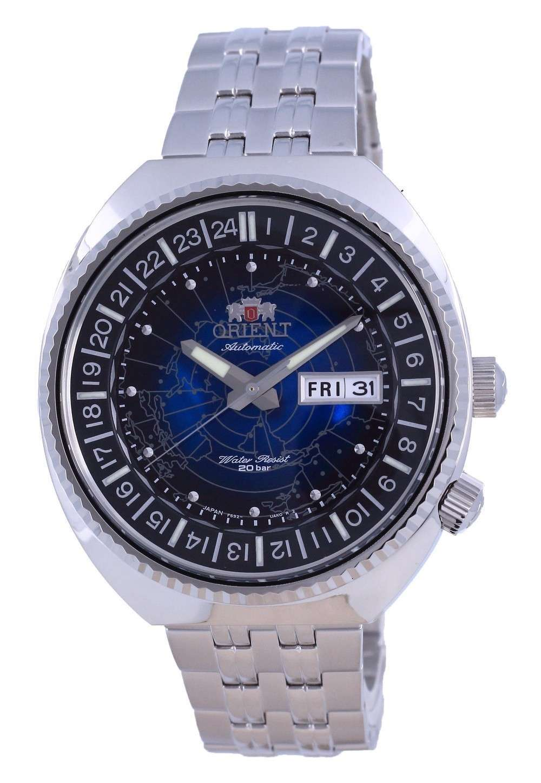 Reloj para hombre Orient World Map Revival Diver&#39,s Automatic RA-AA0E03L09C 200M