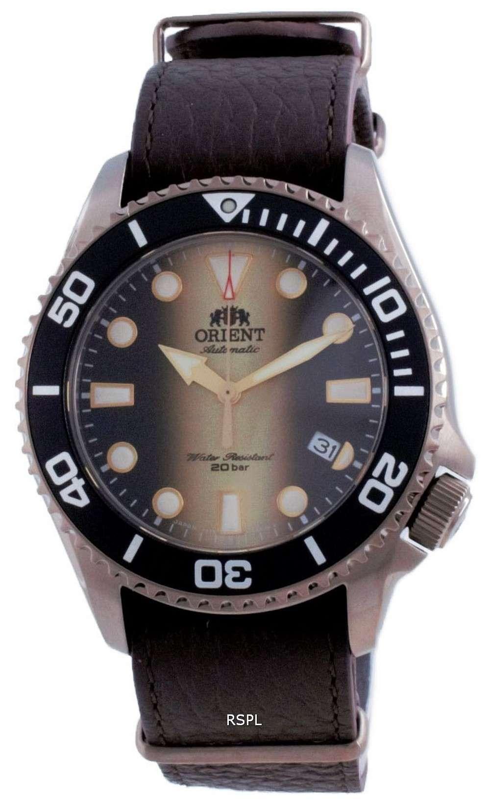 Orient Triton 70th Anniversary Limited Edition Automatic Diver&#39,s RA-AC0K05G00B 200M Reloj para hombre