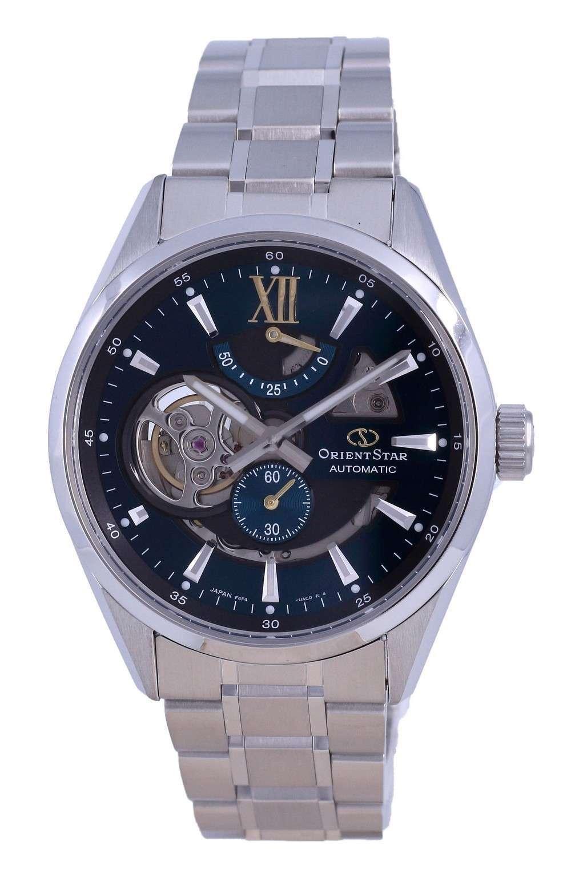 Reloj para hombre Orient Star Contemporary Skeleton Dial de acero inoxidable automático RE-AV0114E00B 100M