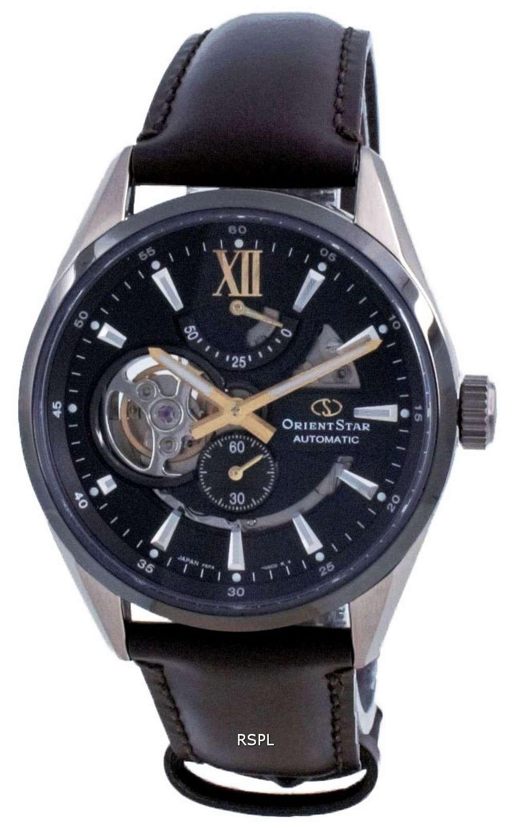 Orient Star Contemporary Open Heart Automatic RE-AV0115B00B 100M Reloj para hombre