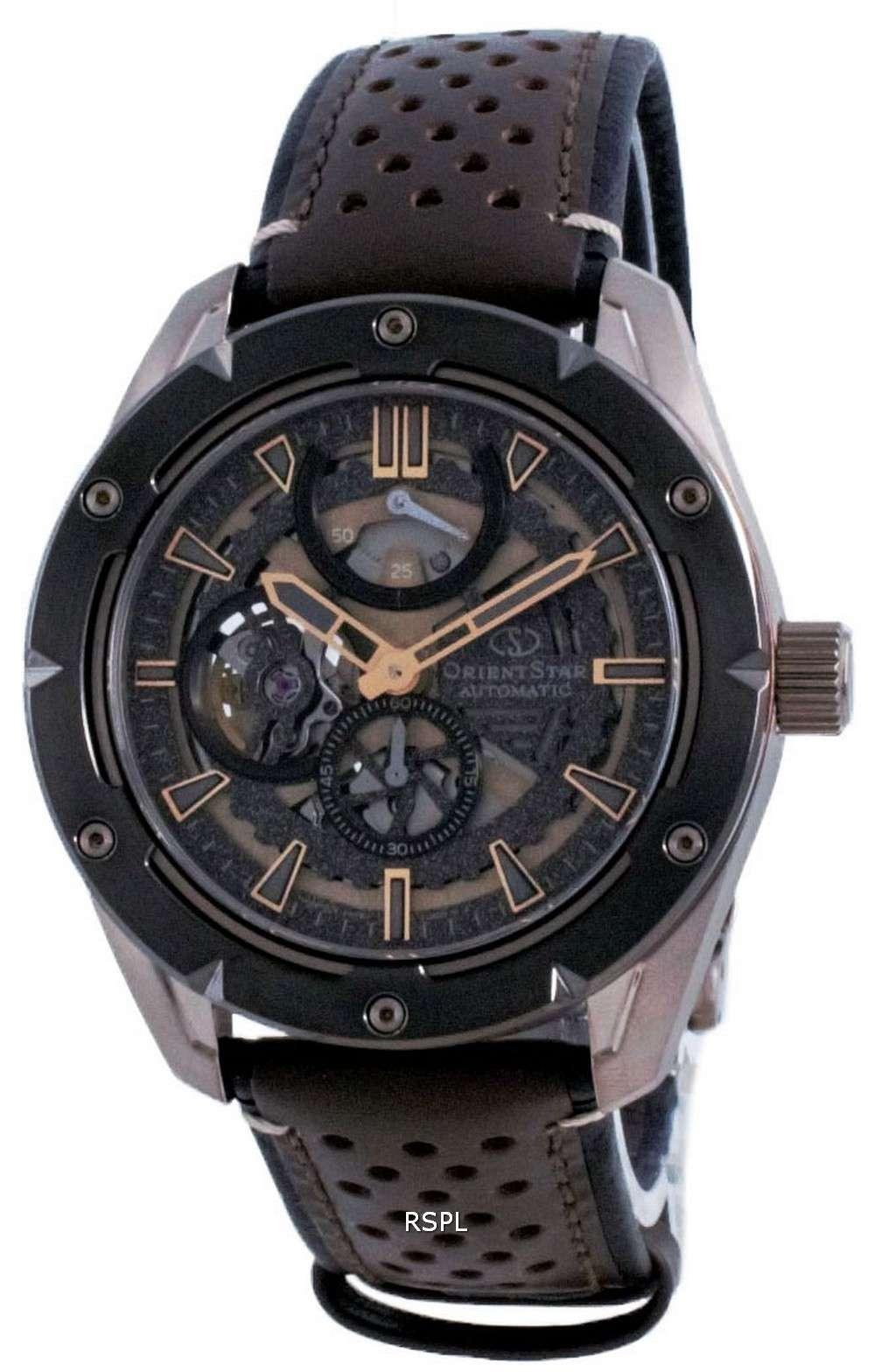 Orient Star Avant Garde Skeleton Automatic RE-AV0A04B00B 100M Reloj para hombre