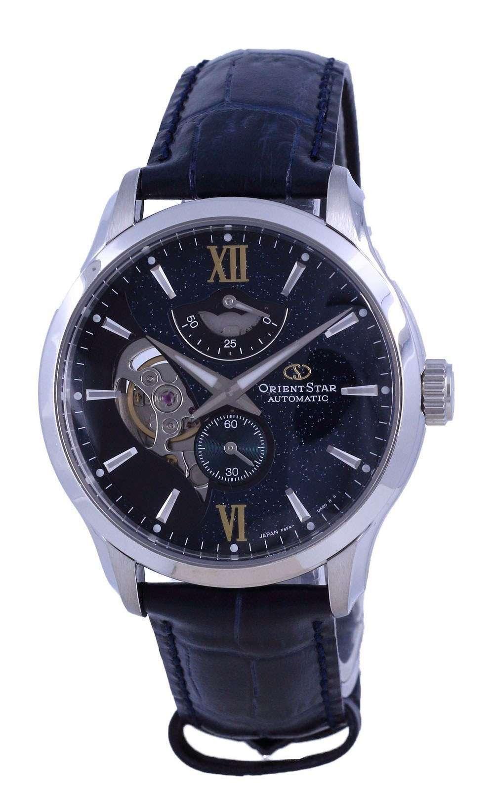 Orient Star Contemporary Edición limitada 70 Aniversario Open Heart Automatic RE-AV0B05E00B 100M Reloj para hombre