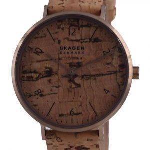 Skagen Aaren Naturals Reloj de cuarzo con esfera marrón SKW2974 para mujer