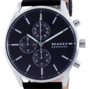 Reloj para hombre Skagen Holst Chronograph Leather Quartz SKW6677