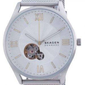 Reloj para hombre Skagen Holst Open Heart de acero inoxidable automático SKW6711