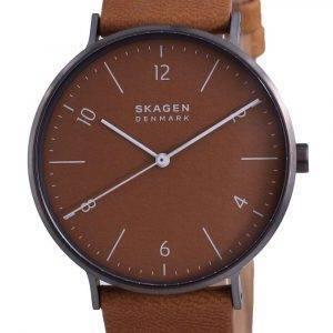 Reloj para mujer Skagen Aaren Naturals Leather Quartz SKW6726