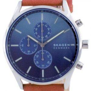 Reloj Skagen Holst de acero inoxidable con cronógrafo y cuarzo SKW6732 para hombre
