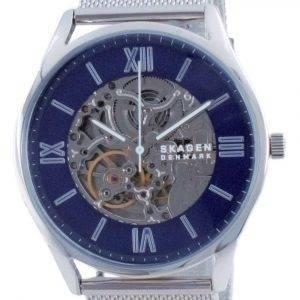 Reloj Skagen Holst Skeleton de acero inoxidable automático SKW6733 para hombre
